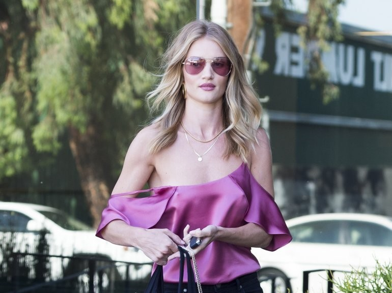Rosie Huntington-Whiteley in West Hollywood
