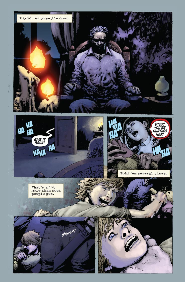 Blood & Dust:The Life & Undeath of Judd Glenny Page 1