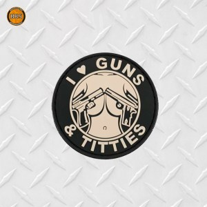 guns and Titties patch