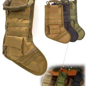 Tactical Christmas Sock - Khaki