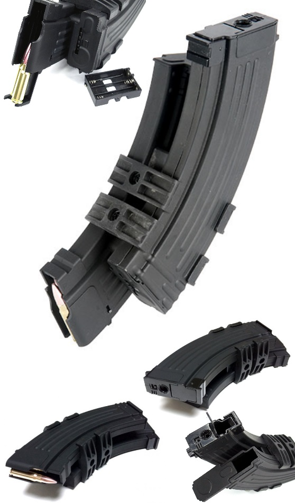 AK Electric Double Mag - 1100bbs Cyma