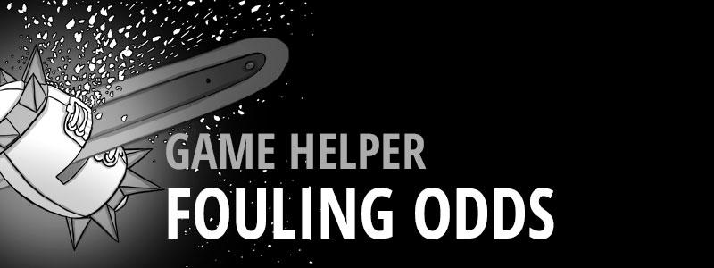 Game Helper -Fouling Odds