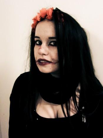 halloween make up 2012 -6