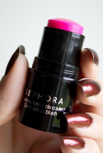 blush revelateur de couleur tenu