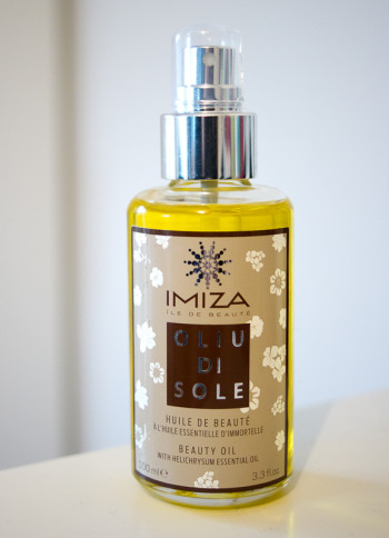 huile de beauté imiza