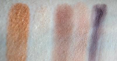 palette splendours clarins swatch