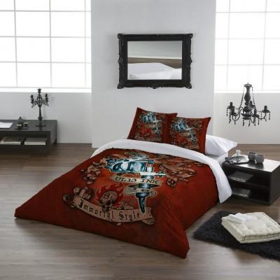 du linge de lit gothique m me pour les grands blood is the new black. Black Bedroom Furniture Sets. Home Design Ideas