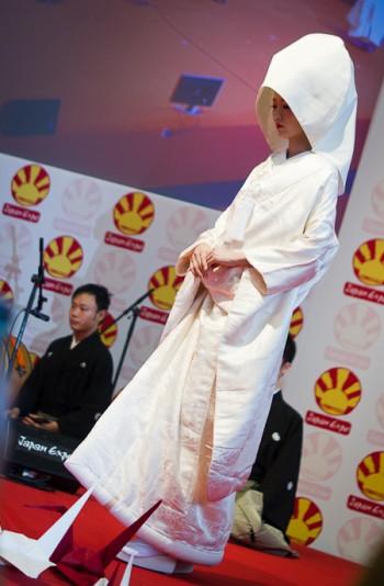 kimono blanc mariage japon