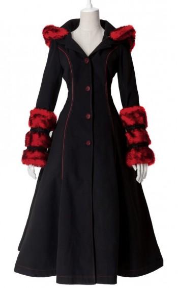 manteau gothique laine