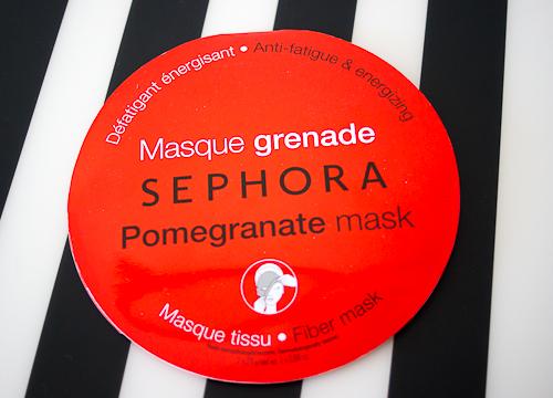 masque grenade sephora