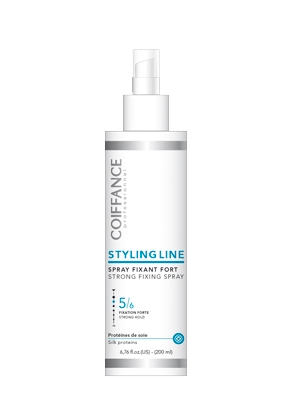 spray fixation forte coiffance styling line