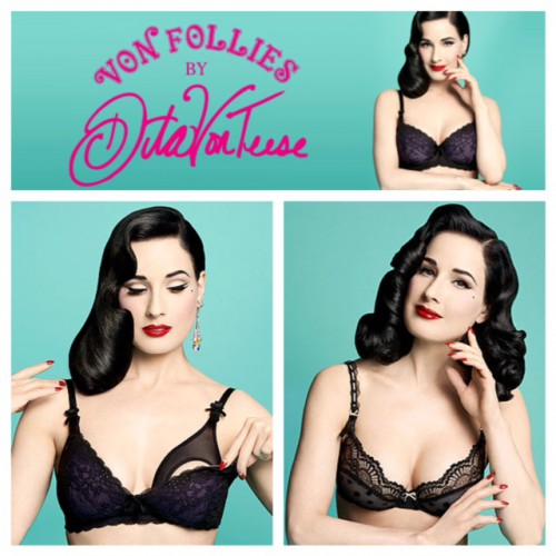 dita von follies maternity