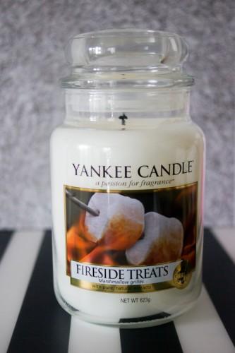 yankee candle fireside