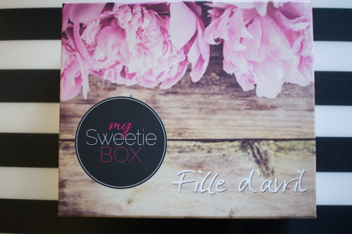 my sweetie box avril 2016-2