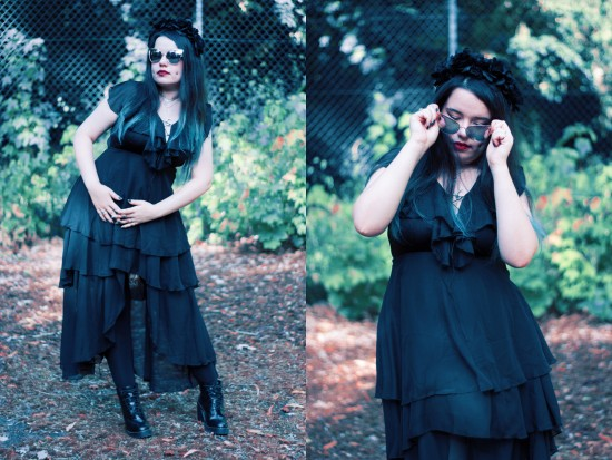 Look gothic staying summer