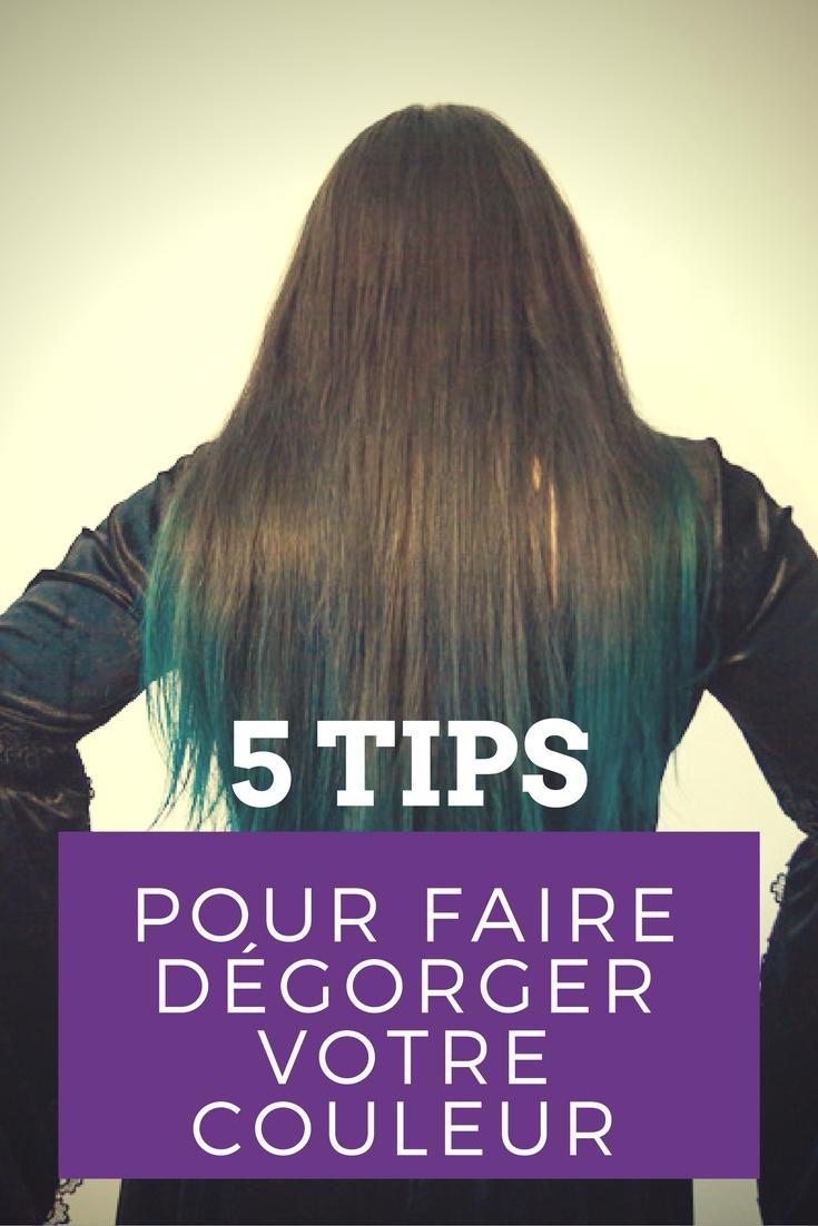 Comment changer sa couleur de cheveux