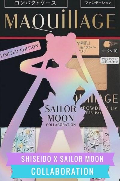 Shiseido x Sailor Moon