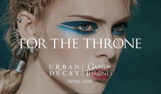 La collection Urban Decay Game of Thrones