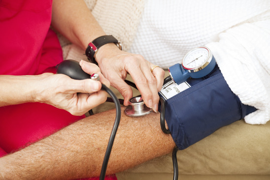 How Is The Blood Pressure Taken With Cuff ?