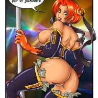 Bloodrayne can easily work as a stripper!
