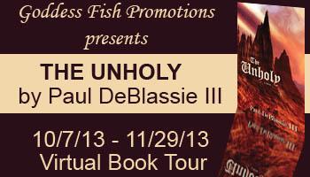 supernatural thriller written by Paul DeBlassie III