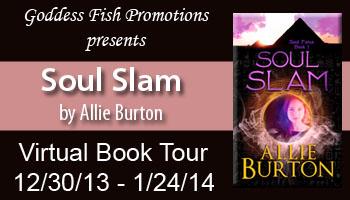 Advertisement for Soul Slam by Allie Burton