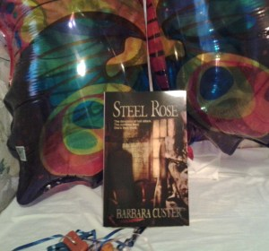 Steel Rose is an unholy matrimony of zombie fiction and horror fiction by Barbara Custer.