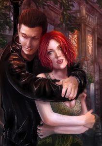 Vampire romance tale by Neil Benson