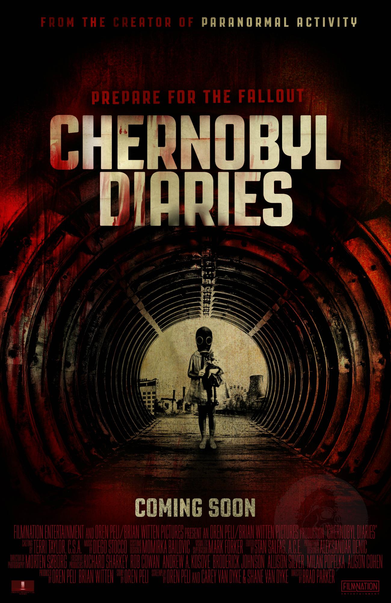 International Chernobyl Diaries Poster Premiere Prepares