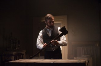 ALVH-080 - Abraham Lincoln (Benjamin Walker) examines his vampire-hunting weapon of choice, a specially crafted axe.
