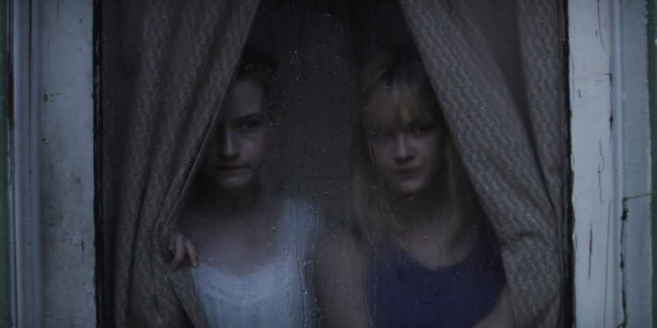 Julia Garner and Ambyr Childeres in Jim Mickle's WE ARE WHAT WE ARE Photo by Ryan Samul