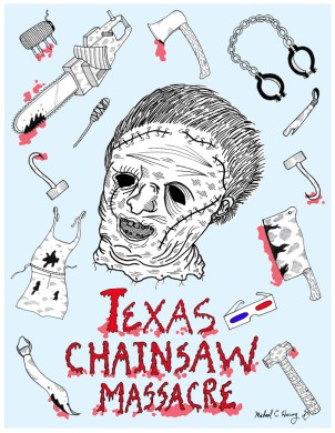 10-texas-chainsaw-3d-fan-poster