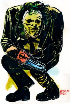 2-texas-chainsaw-3d-fan-poster