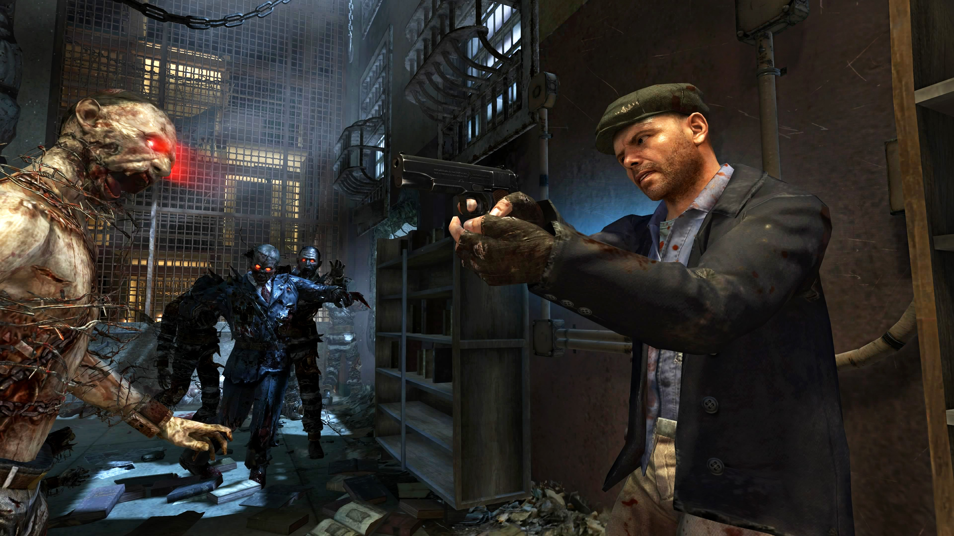 Black Ops Ii Zombies Map Mob Of The Dead Finally Out On The Pc
