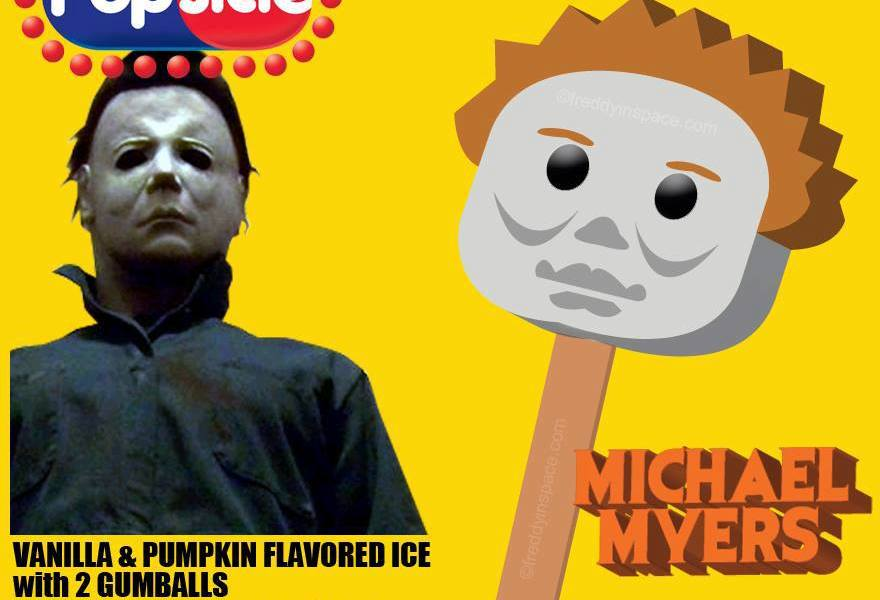 Random Cool Tasty Horror Movie Popsicles Bloody