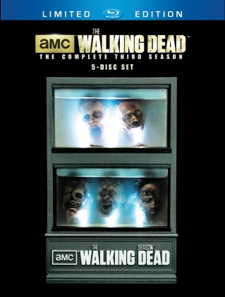 WALKING DEAD SS3 LTD Edition Blu-ray