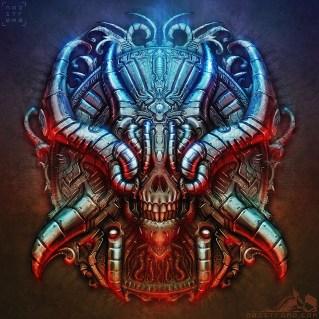 biomechanical_chrome_skull_by_noistromo-d5g384l