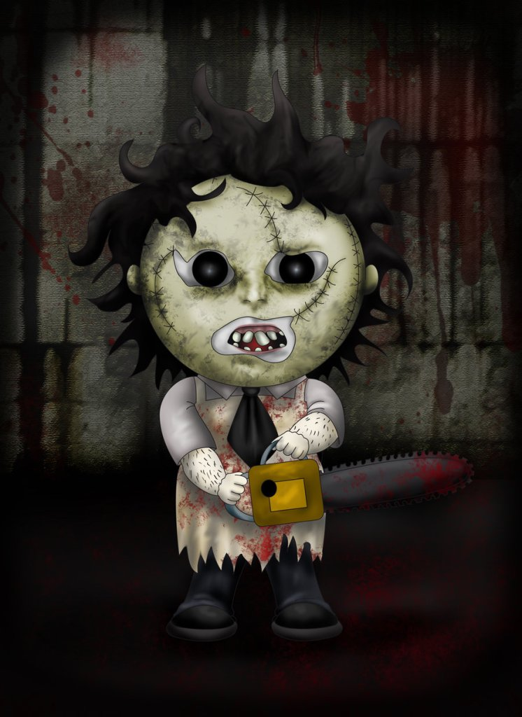 leatherface_by_lauramei-d4q9ew0