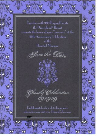 DISNEY INVITATION
