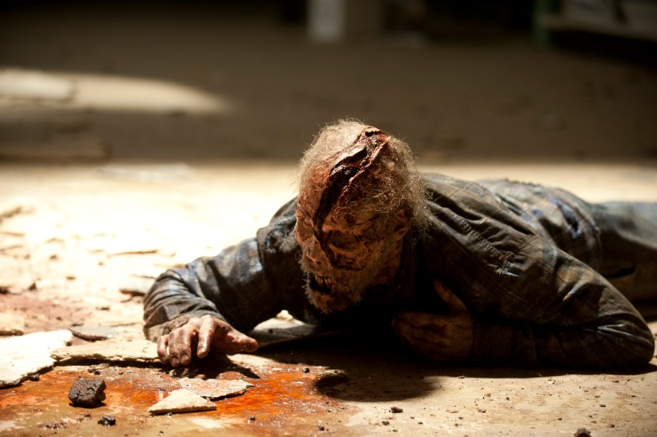 Walker – The Walking Dead _ Season 4, Episode 1 – Photo Credit: Gene Page/AMC
