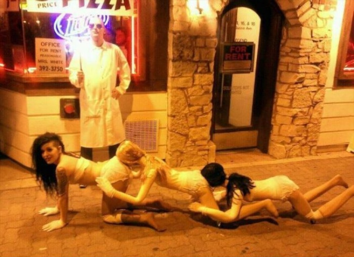 random cool this human centipede homage is one of the best