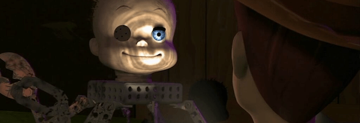 [Halloween Treat] Toy Story Gets Mashed Up With The