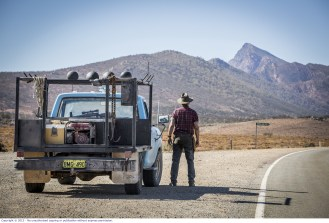WolfCreek2_John Jarratt as Mick Taylor with ute