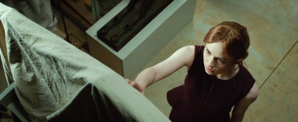 M290 Karen Gillian stars in Relativity Media's OCULUS. Photo Credit: John Estes ©2013 Lasser Productions, LLC. All Rights Reserved.
