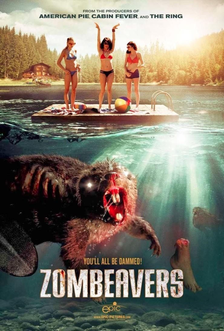 Zombeavers - poster