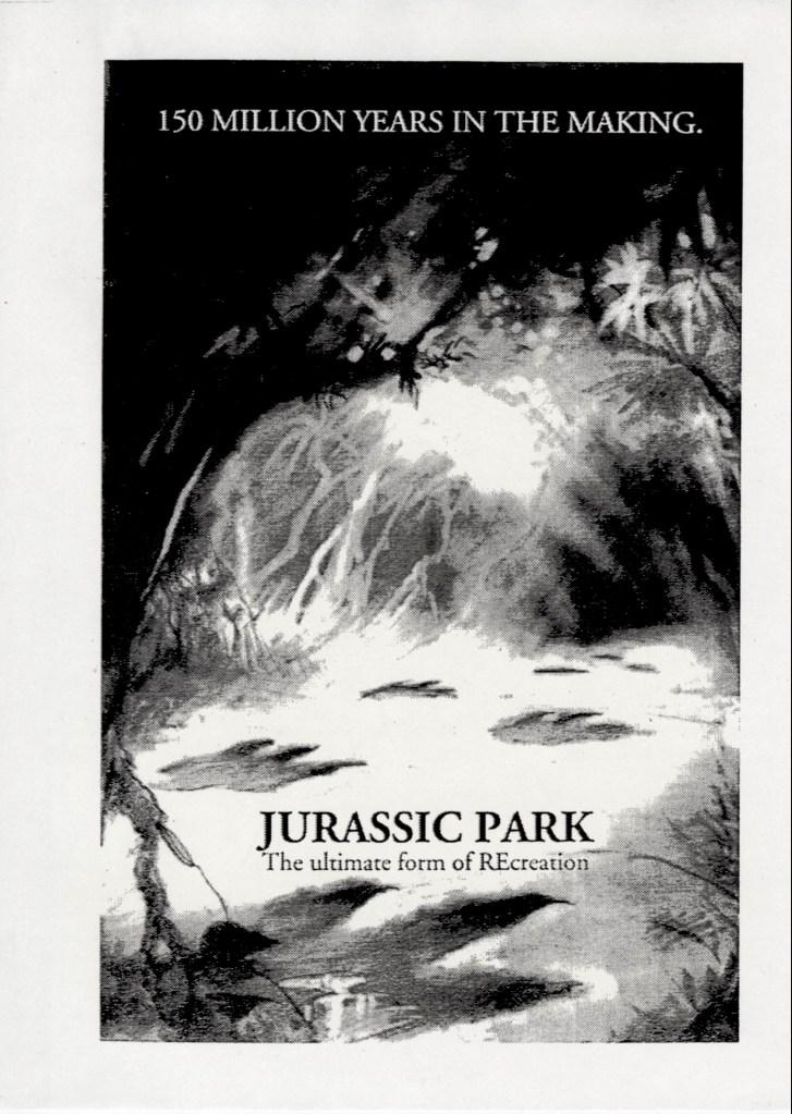 John Alvin – Jurassic Park poster – 2