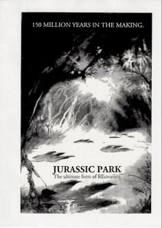 John Alvin - Jurassic Park poster - 2