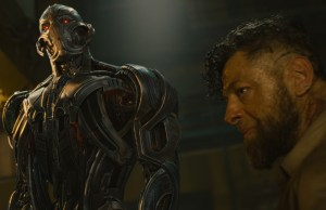 Marvel's Avengers: Age Of Ultron..L to R: Ultron and Ulysses Klaue (Andy Serkis)..Ph: Film Frame..©Marvel 2015