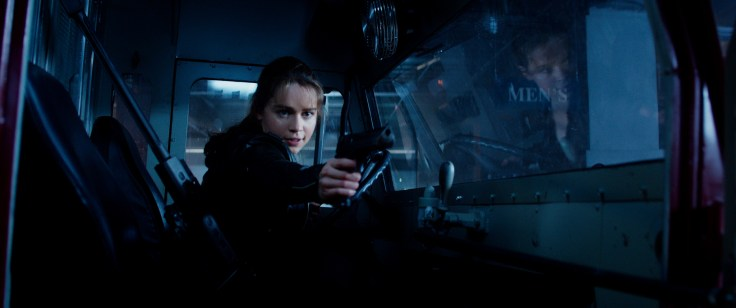 Emilia Clarke plays Sarah Connor in Terminator Genisys from Paramount Pictures and Skydance Productions