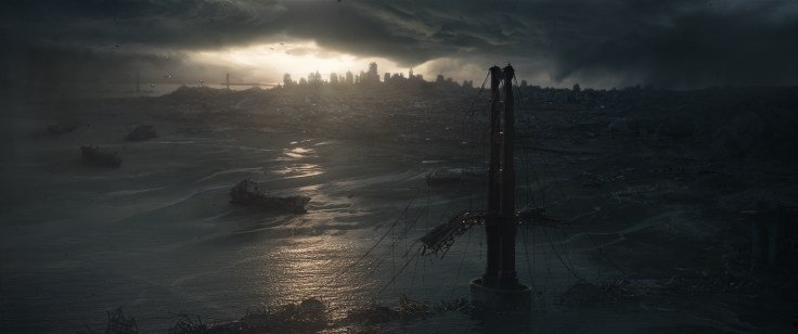 Scene in Terminator Genisys from Paramount Pictures and Skydance Productions.